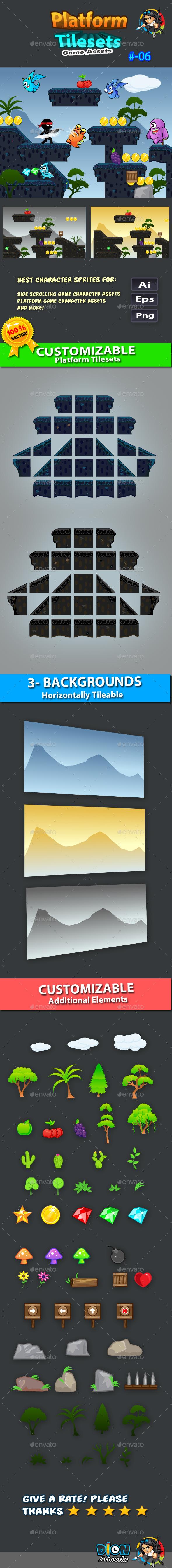GraphicRiver Platform Tilesets Game Assets 06 11431514