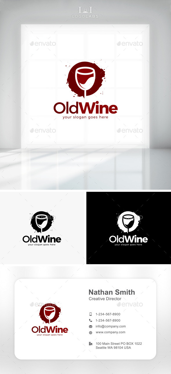 GraphicRiver Old Wine Logo 11431744