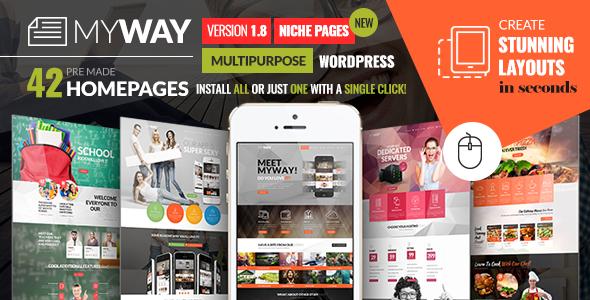 MyWay Multipurpose Creative WordPress Theme