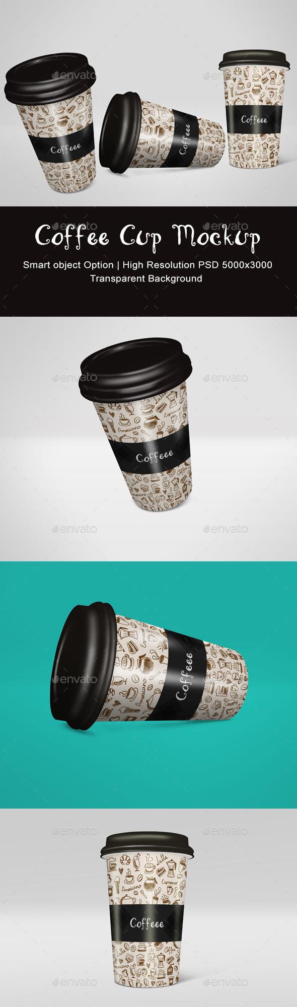 GraphicRiver Coffee Cup Mockup 11432200