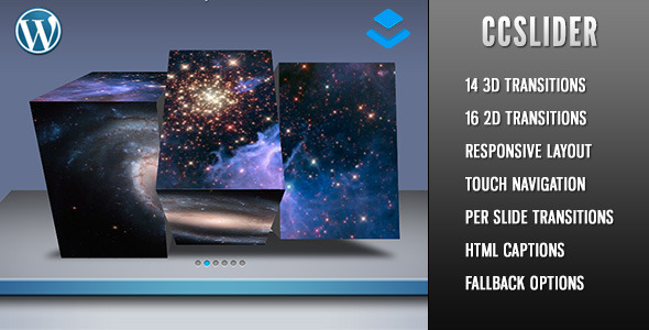 CodeCanyon CCSlider 3d 2d Slideshow Layers Extension 11432211