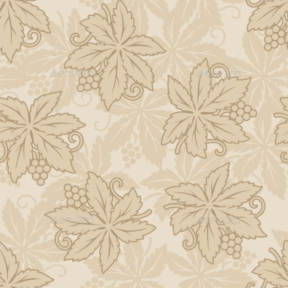 GraphicRiver Retro Grapes Seamless Background 11432302