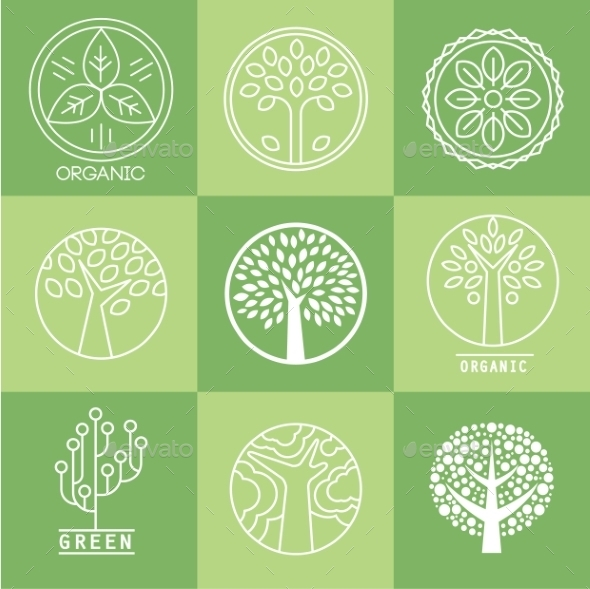 GraphicRiver Tree Collection Of Design Elements 11432453