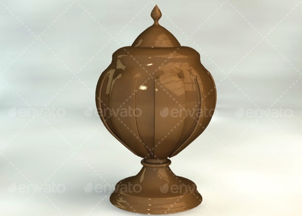Urn - 3DOcean Item for Sale