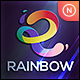 Rainbow - Letter R - GraphicRiver Item for Sale