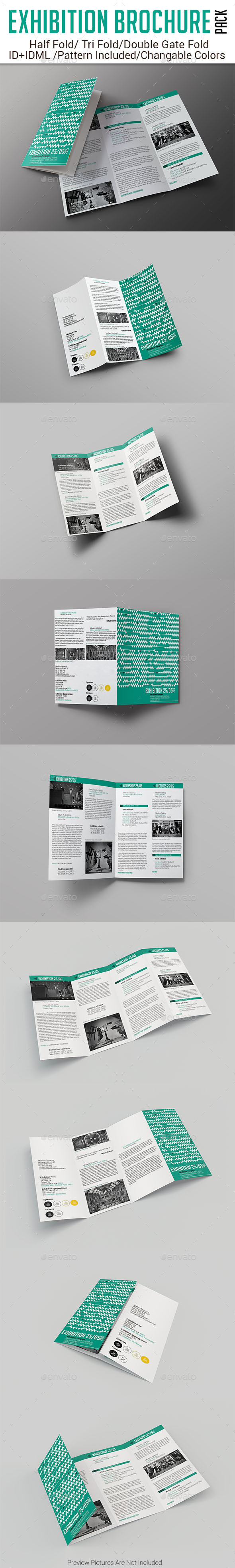 GraphicRiver Exhibition Brochure Pack 11432911