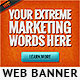Extreme and Hot Web Banner Template - GraphicRiver Item for Sale