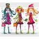 Christmas sale: beautiful girls - GraphicRiver Item for Sale