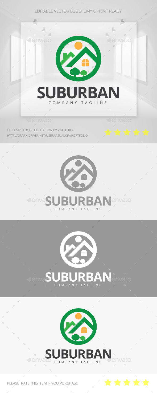 GraphicRiver Suburban Logo 11433184