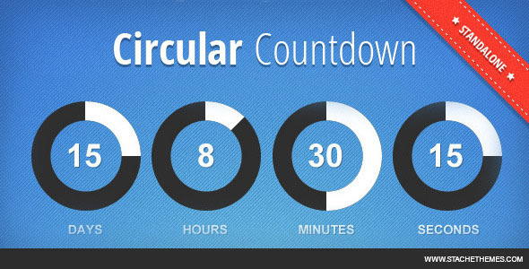 Circular Countdown - CodeCanyon Item for Sale