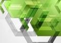 Green shiny hi-tech geometric background - PhotoDune Item for Sale