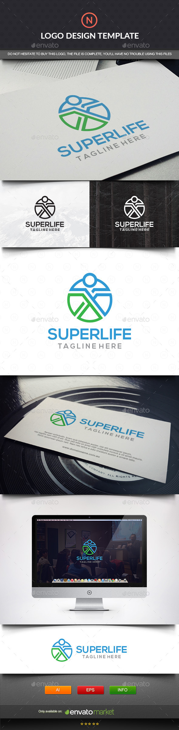 GraphicRiver Super Life 11433242