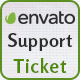 Envato User Support Ticket System