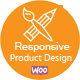 Responsive Product Designer for WooCommerce
