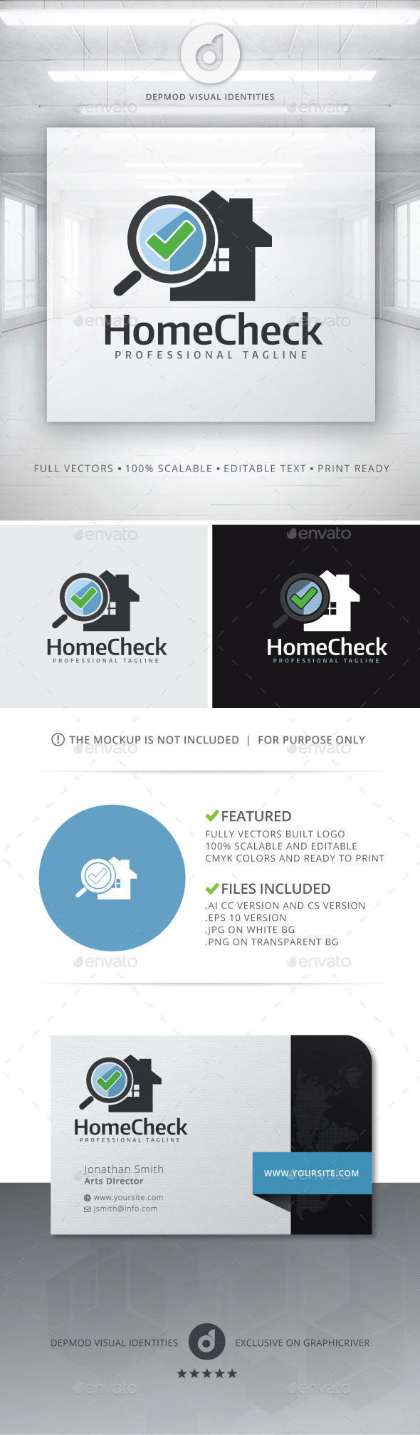 GraphicRiver Home Check Logo 11433714