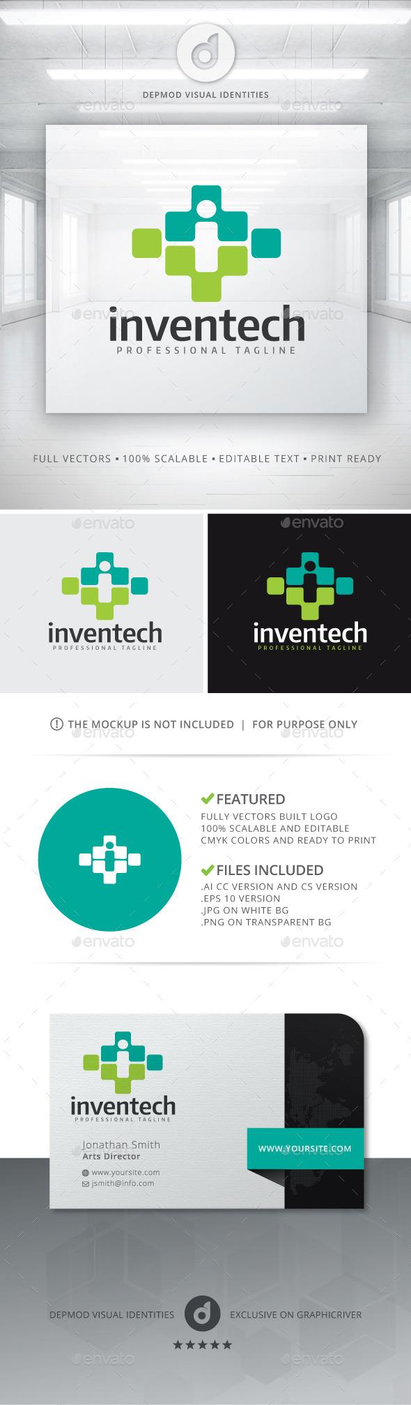GraphicRiver Inventech Logo 11433741