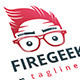 Geek Fire Logo - GraphicRiver Item for Sale