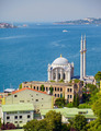 The view of Ortakoy Mosque against the Bosphorus background.  Is - PhotoDune Item for Sale