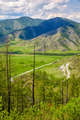 Altai landscapes from mountain pass Chike-Taman - PhotoDune Item for Sale
