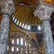 The Interior of the Upper Gallery in Hagia Sophia. Istanbul - PhotoDune Item for Sale