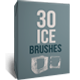 30 Ice Brushes - GraphicRiver Item for Sale