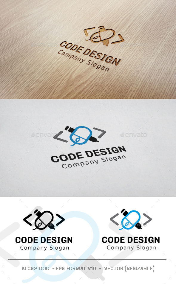 GraphicRiver Code Design Logo 11433915