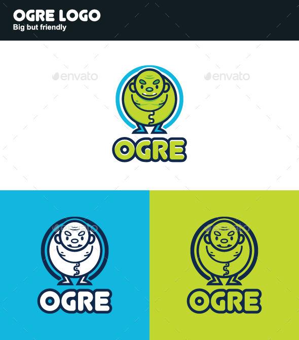 GraphicRiver Ogre Logo 11433958