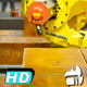 Crane Mechanical Arm, Logistic Industry - VideoHive Item for Sale