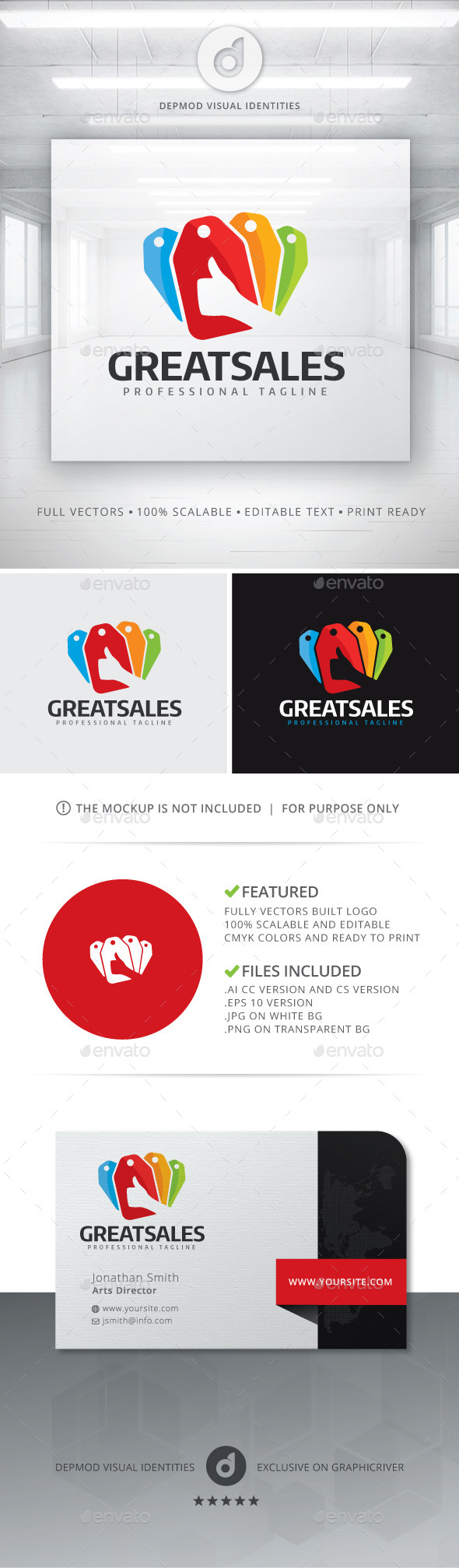 GraphicRiver Great Sales Logo 11434058