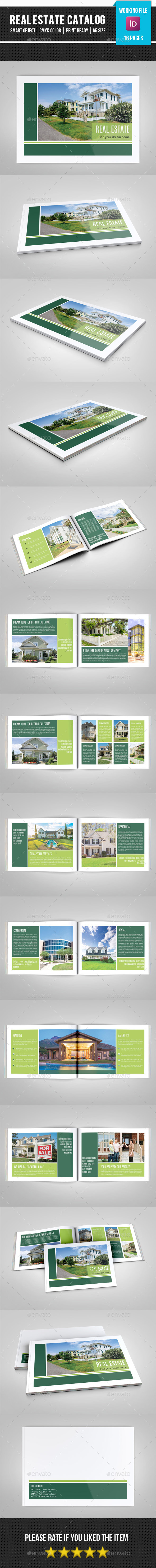 GraphicRiver Real Estate Catalog Brochure-V167 11434059