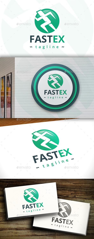 GraphicRiver Fast Exit Logo 11434070