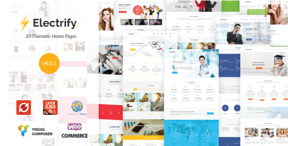 Electrify - Versatile WordPress Theme