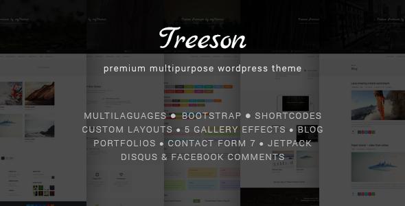 Treeson - Premium Multipurpose Wordpress Theme