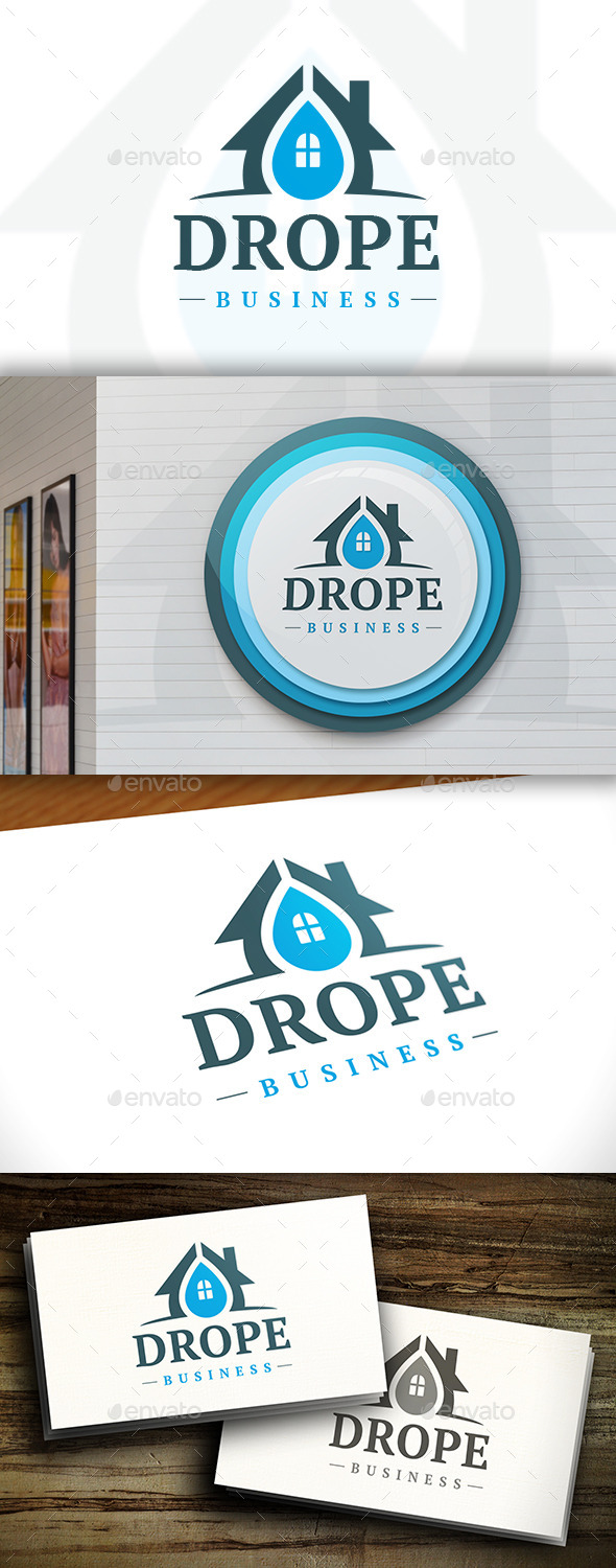 House Drop Logo