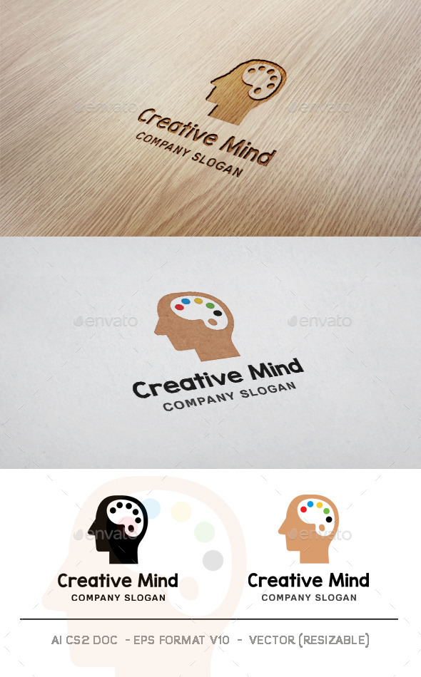 GraphicRiver Creative Mind Logo 11434542