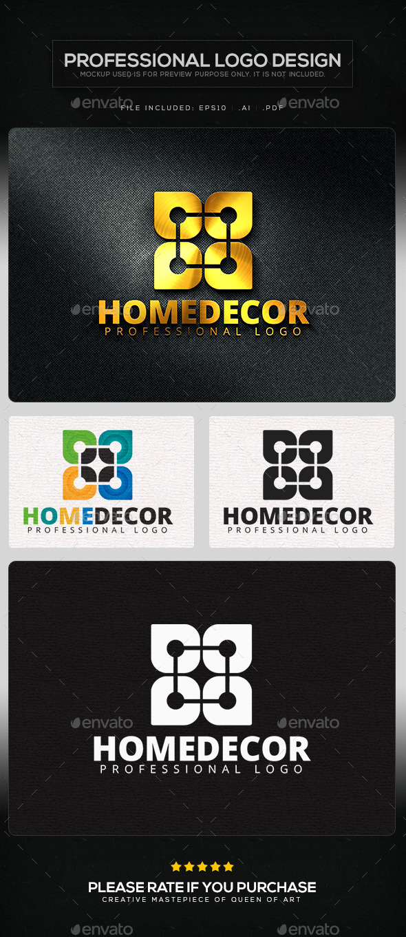 GraphicRiver Home Decor Logo Template 11435126