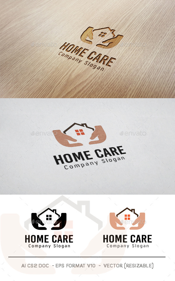 GraphicRiver Home Care Logo 11436776