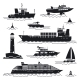 Ship and Boat Icons - GraphicRiver Item for Sale