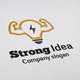 Strong Idea Logo - GraphicRiver Item for Sale