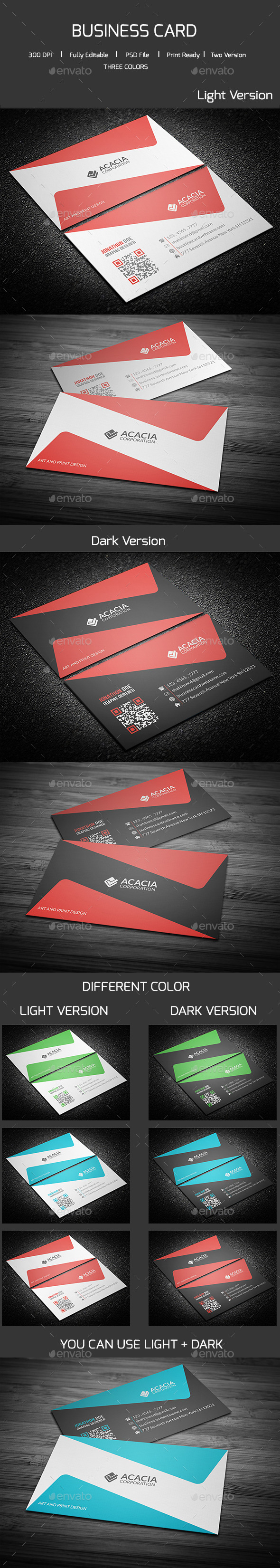 GraphicRiver Creative Business Card 11437832