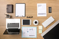 Businessman's tidy desktop - PhotoDune Item for Sale