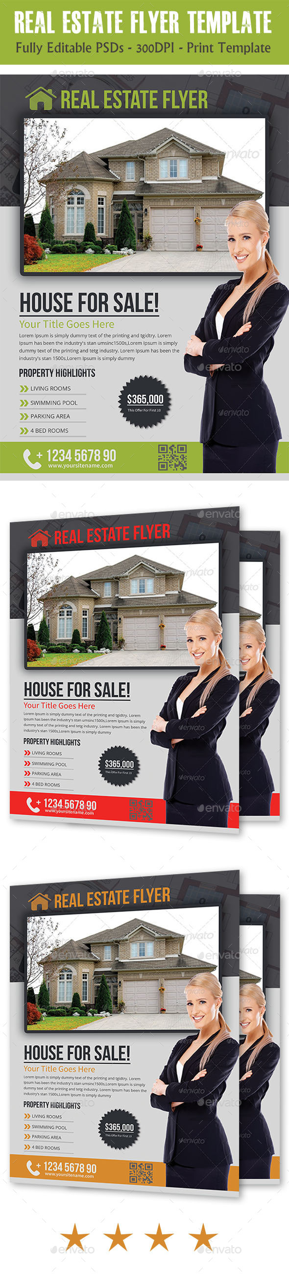 GraphicRiver Real Estate Flyer Temp 11438285
