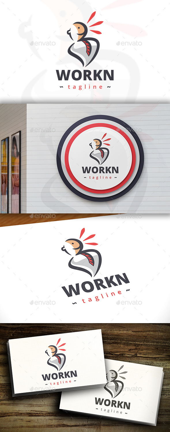 GraphicRiver Work News Logo 11438426