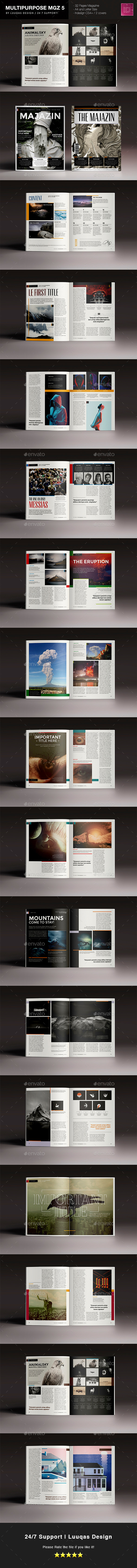 GraphicRiver Multitpurpose Magazine 5 11438656