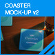 Coaster Mock-up 2 - GraphicRiver Item for Sale