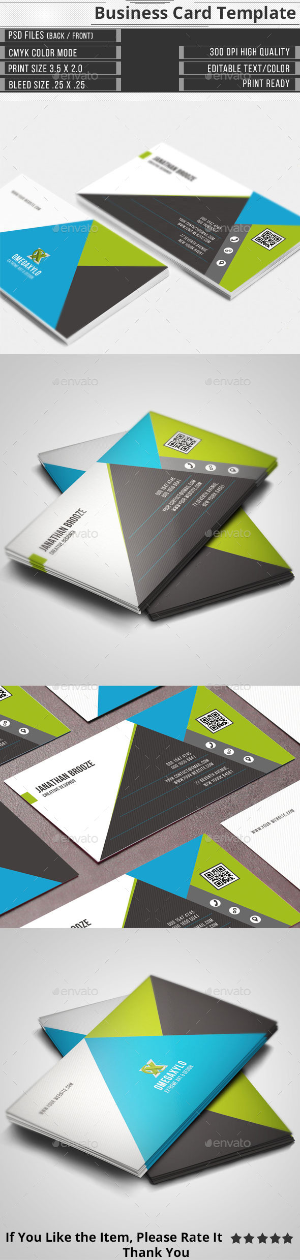 GraphicRiver Corporate Business Card 11438850