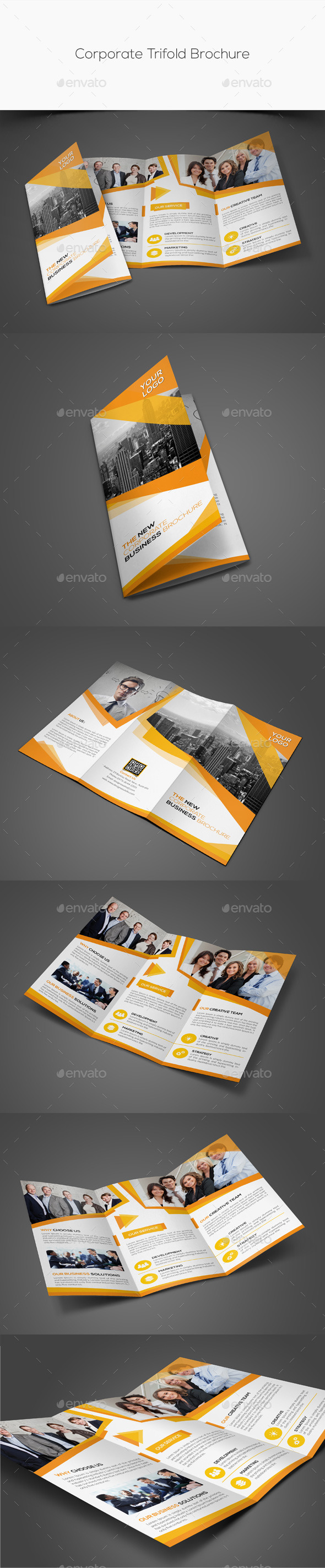 GraphicRiver Corporate Trifold Brochure 11439119