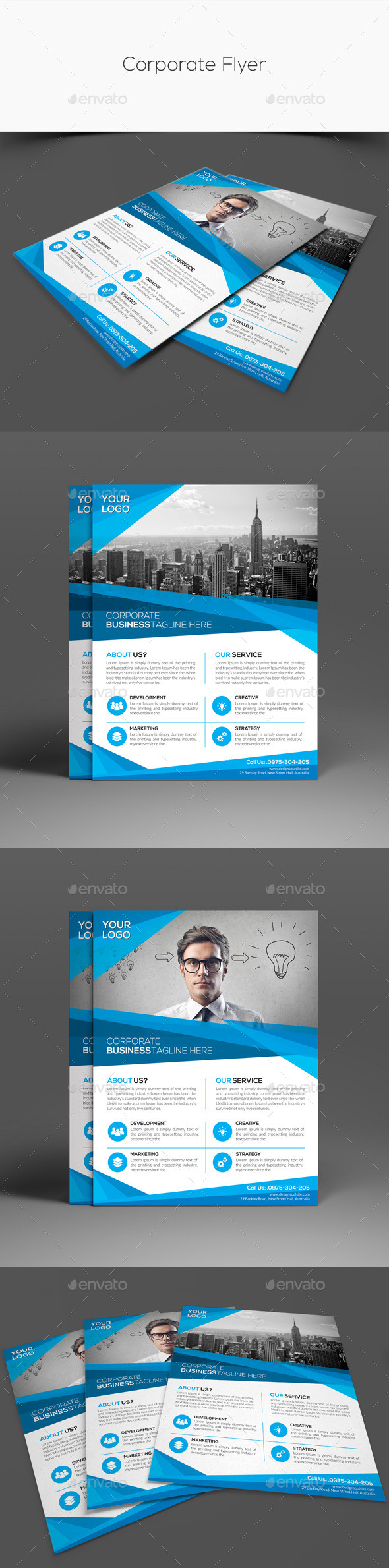 GraphicRiver Corporate Flyer 11439136