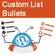WeePie Custom List Bullets Plugin for WordPress - CodeCanyon Item for Sale