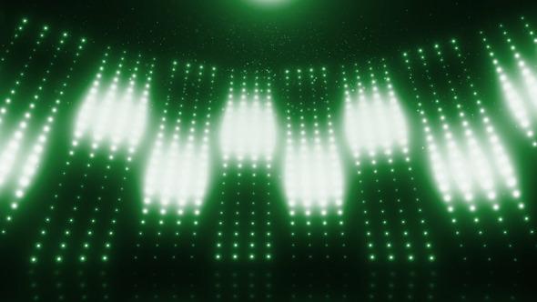 Green Revolving Stage